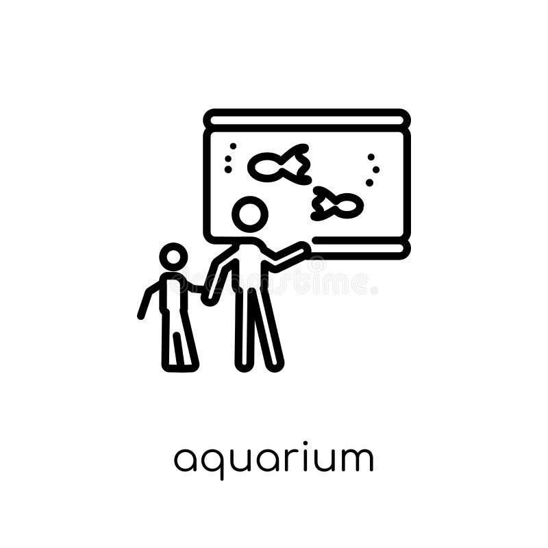 Значок аквариума  иллюстрация штока