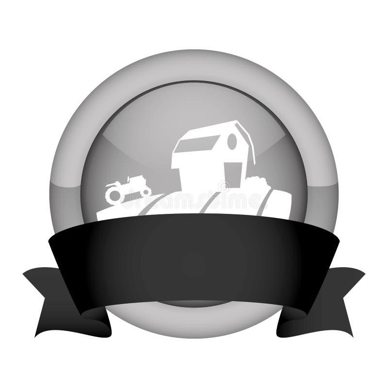 Download Значок амбара фермы иллюстрация вектора. иллюстрации насчитывающей земля - 81802819