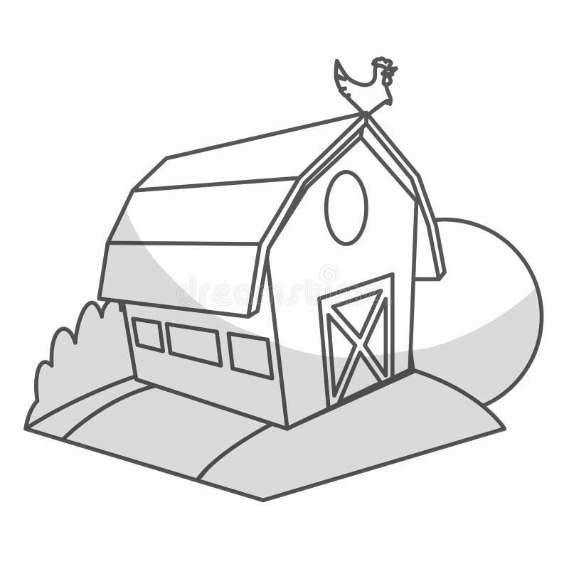 Download Значок амбара фермы иллюстрация вектора. иллюстрации насчитывающей природа - 81802998