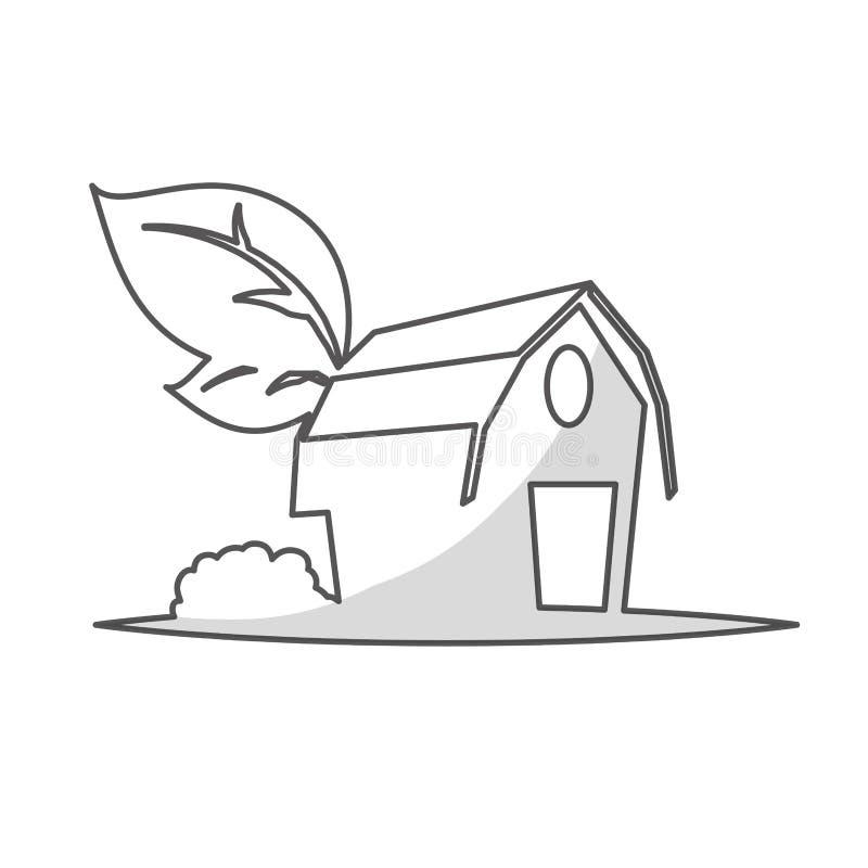 Download Значок амбара фермы иллюстрация вектора. иллюстрации насчитывающей рост - 81803000