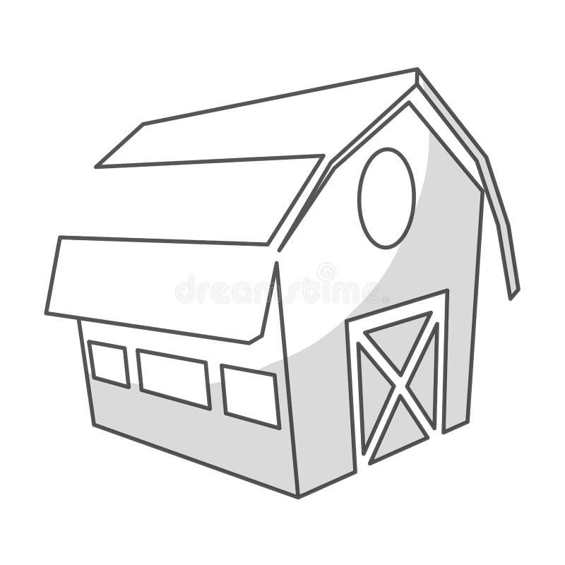 Download Значок амбара фермы иллюстрация вектора. иллюстрации насчитывающей комплект - 81803026