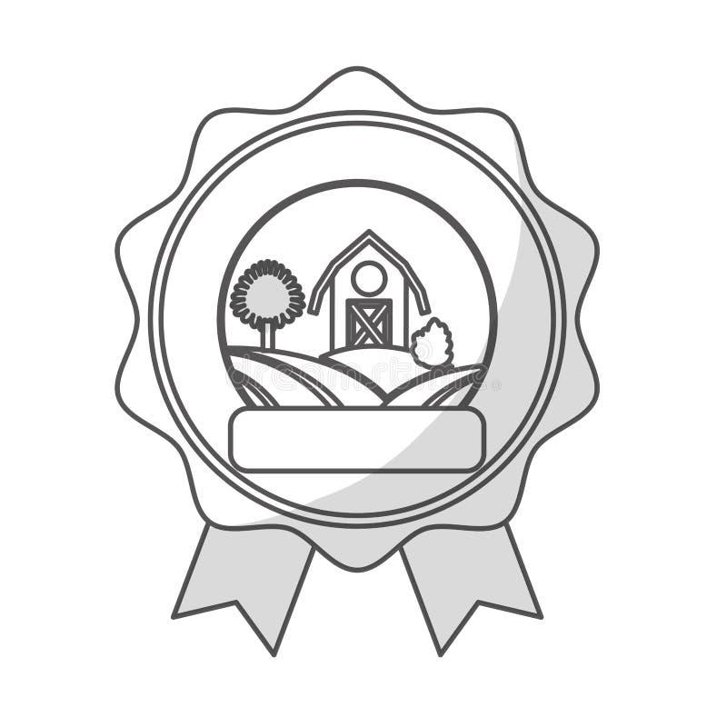 Download Значок амбара фермы иллюстрация вектора. иллюстрации насчитывающей страна - 81803055