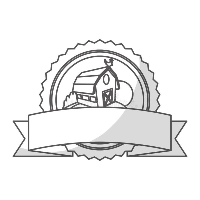 Download Значок амбара фермы иллюстрация вектора. иллюстрации насчитывающей земля - 81803069