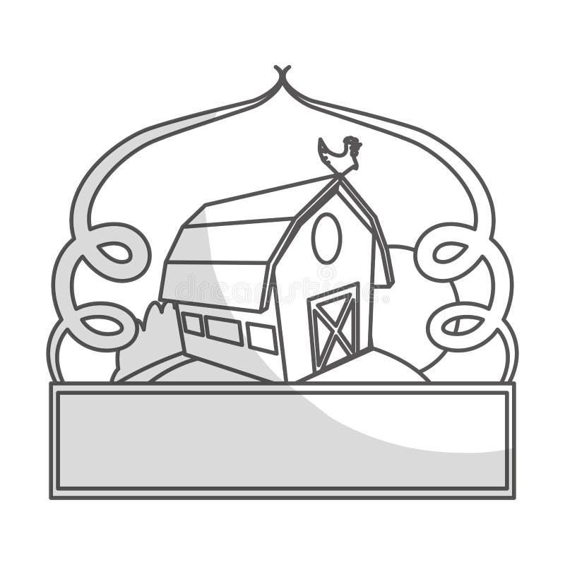 Download Значок амбара фермы иллюстрация вектора. иллюстрации насчитывающей урожай - 81803173