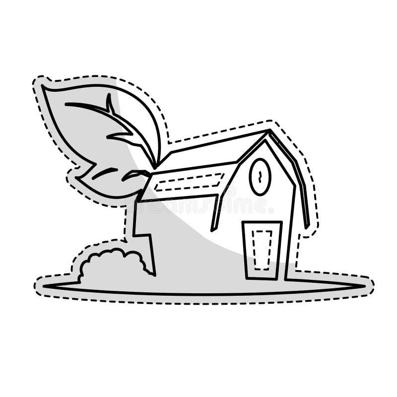 Download Значок амбара фермы иллюстрация вектора. иллюстрации насчитывающей природа - 81803233