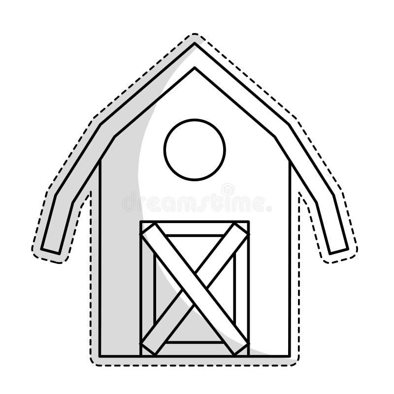 Download Значок амбара фермы иллюстрация вектора. иллюстрации насчитывающей весна - 81803242