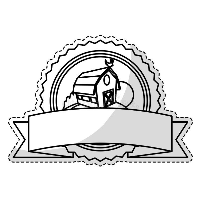 Download Значок амбара фермы иллюстрация вектора. иллюстрации насчитывающей индустрия - 81803305