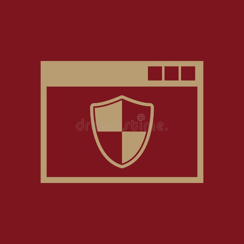 Значок антивируса Конструкция Брандмауэр, символ антивируса Веб график jpg ai _ логос предмет плоско изображение Знак EPS иллюстрация штока