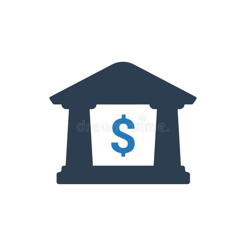 Значок банка бесплатная иллюстрация