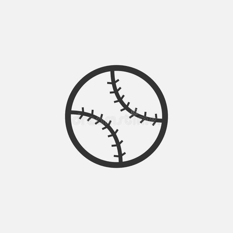 Значок бейсбола, спорт, шарик, команда бесплатная иллюстрация