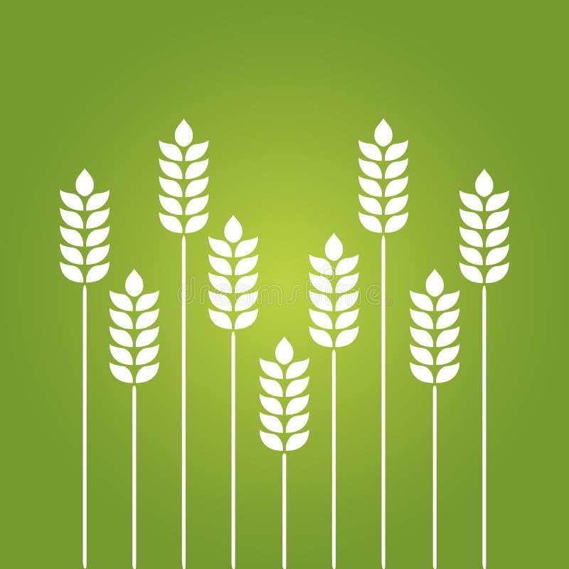 Значок белизны пшеницы иллюстрация штока