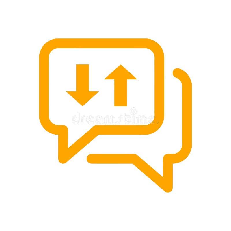 Значок болтовни, sms значок, болтовня, пузырь, значок комментариев, сообщение, значок беседы, звонок, sms группы, значок пузырей  иллюстрация штока