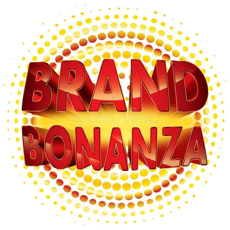 Значок бонанцы бренда бесплатная иллюстрация