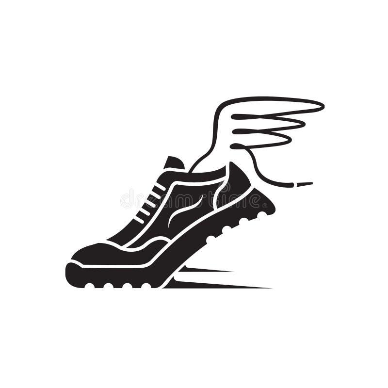 Значок ботинка спорта бесплатная иллюстрация