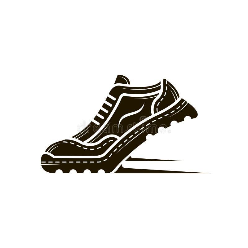Значок ботинка спорта иллюстрация штока