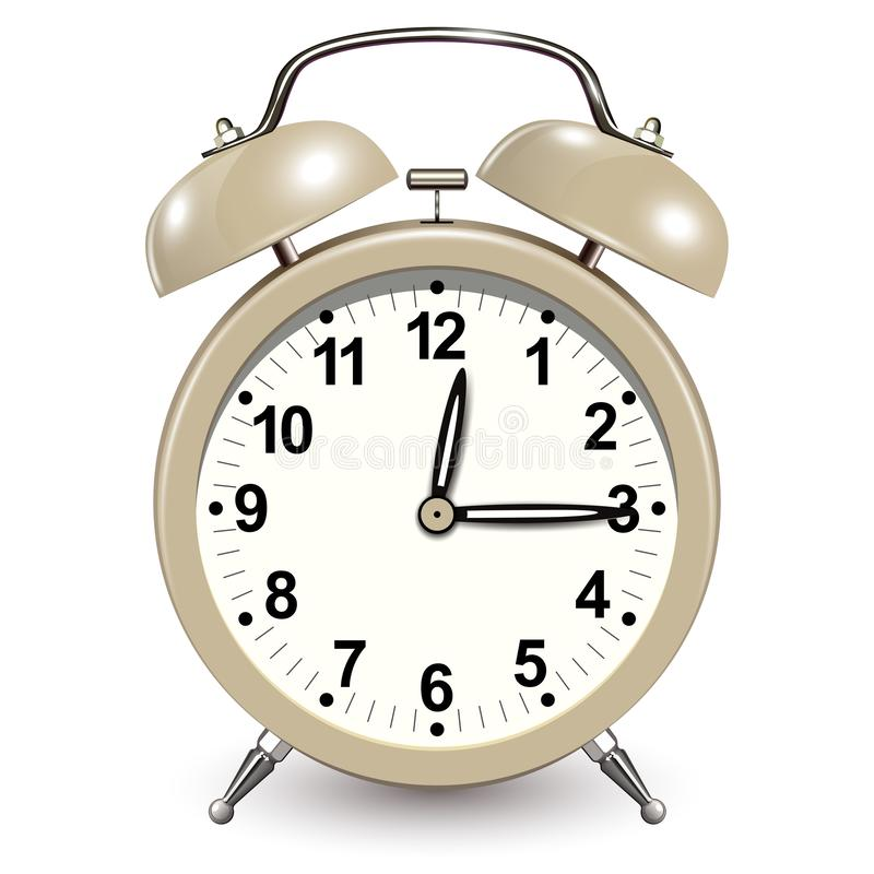 Значок будильника иллюстрация вектора