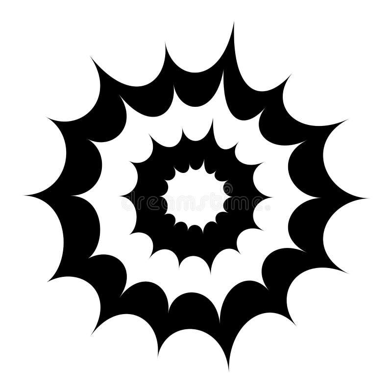 Значок вектора взрыва взрыва бесплатная иллюстрация