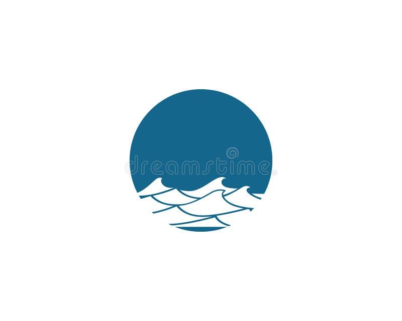 Значок вектора волны воды бесплатная иллюстрация