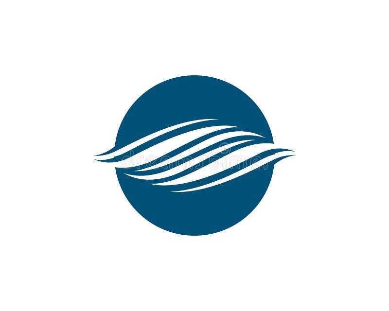 Значок вектора волны воды иллюстрация штока