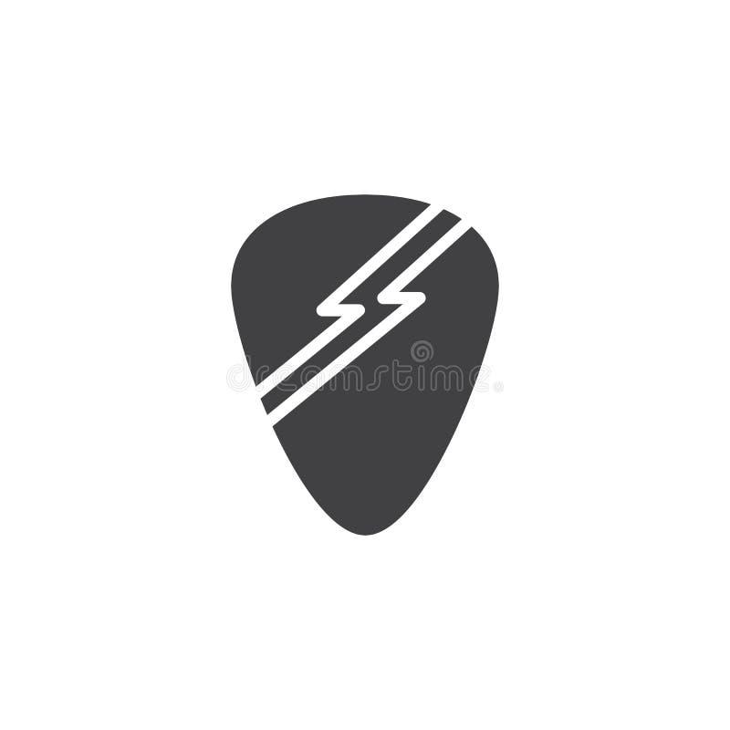 Значок вектора выбора гитары иллюстрация вектора