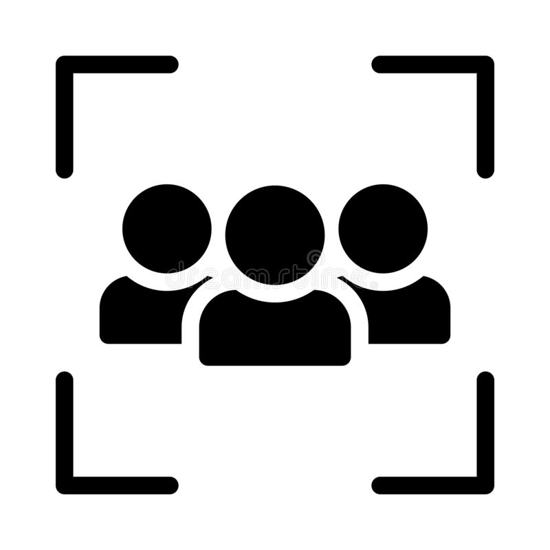 Значок вектора глифа команды плоский иллюстрация штока