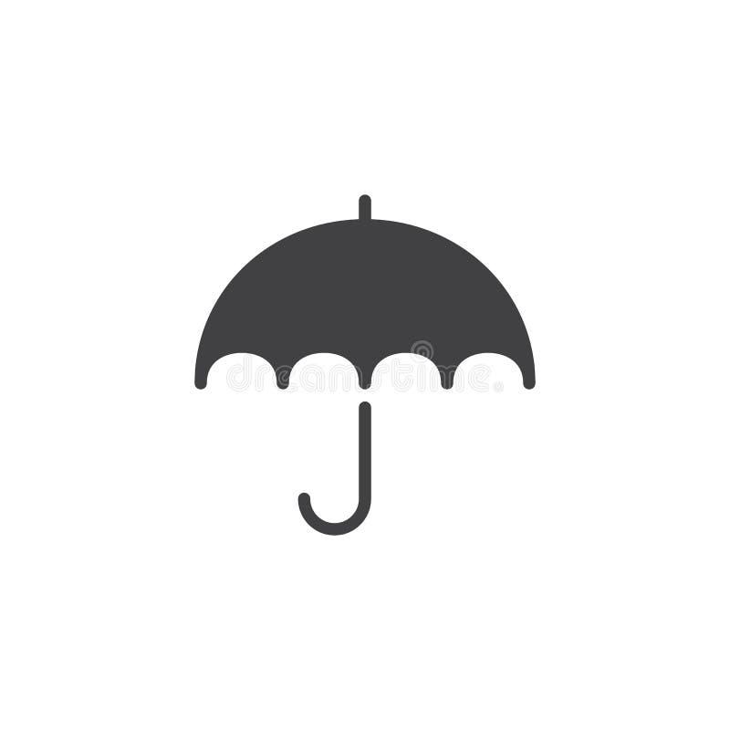 Значок вектора зонтика бесплатная иллюстрация