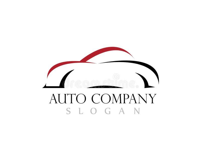 Значок вектора логотипа автомобиля иллюстрация вектора