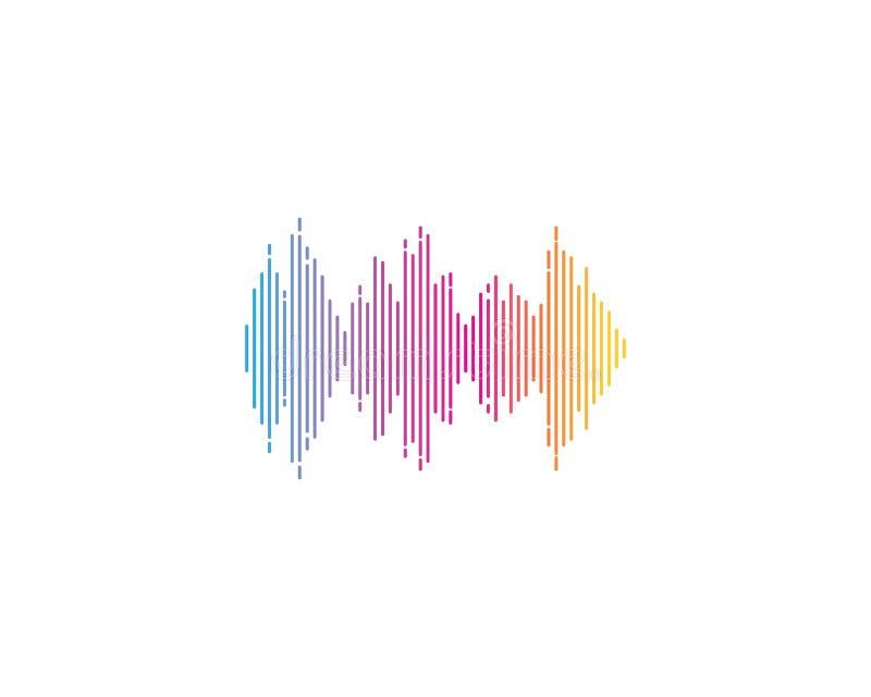 значок вектора логотипа ilustration звуковой войны иллюстрация вектора