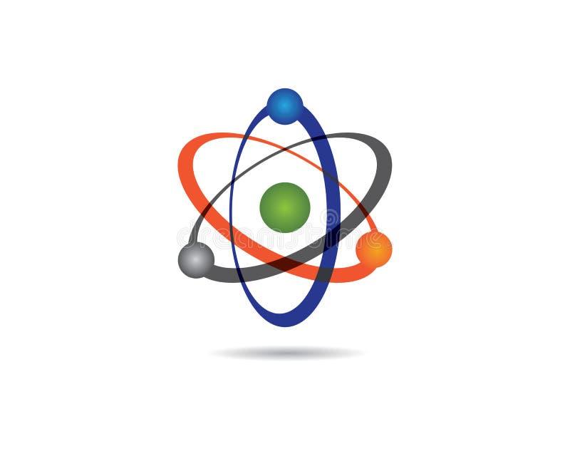 Значок вектора молекулы бесплатная иллюстрация