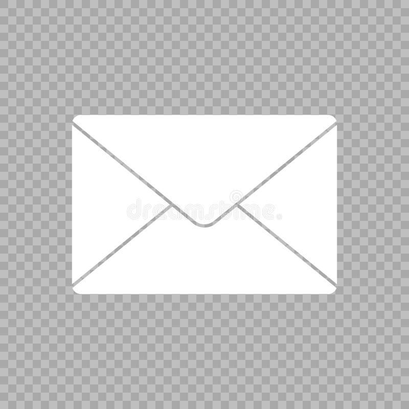 Значок вектора почты иллюстрация вектора