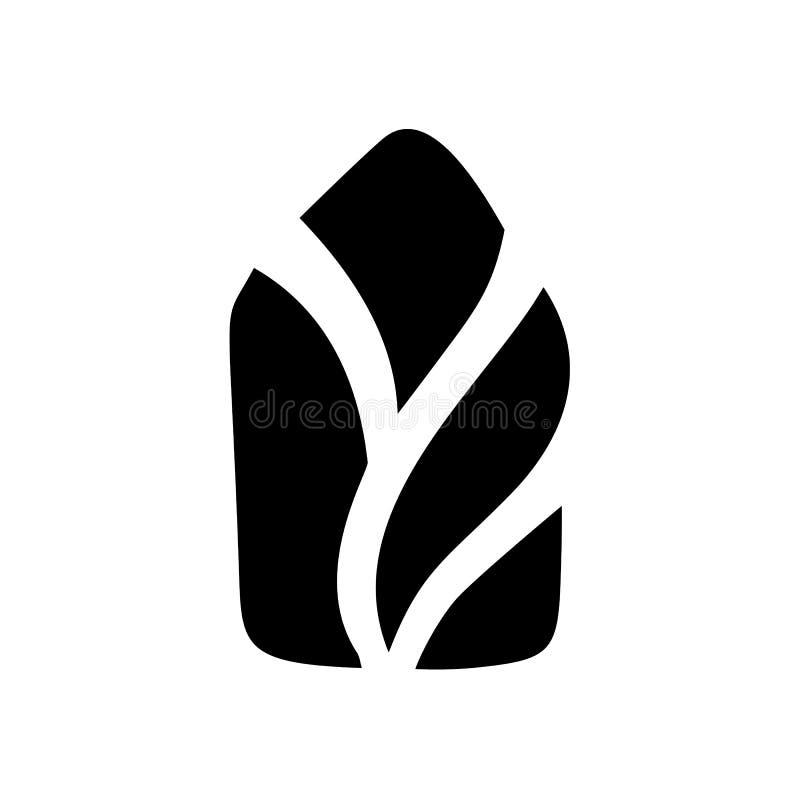 Значок вектора простого дома каллиграфии реальный Конструкция архитектуры имущества для дизайна Элемент логотипа винтажной руки д бесплатная иллюстрация