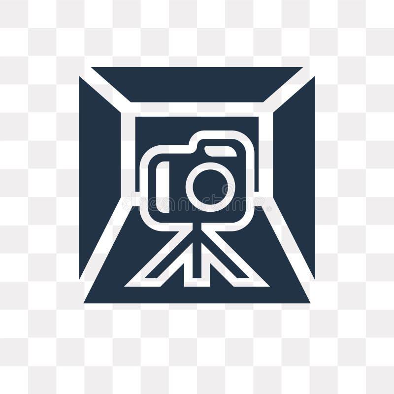 Значок вектора светлой коробки изолированный на прозрачной предпосылке, свете бесплатная иллюстрация