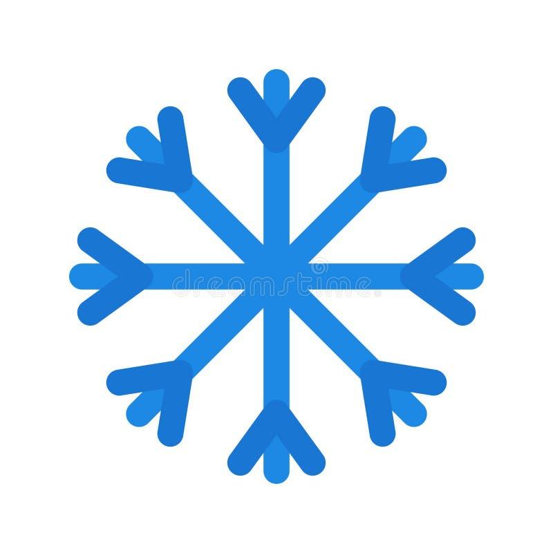 Значок вектора снега иллюстрация штока