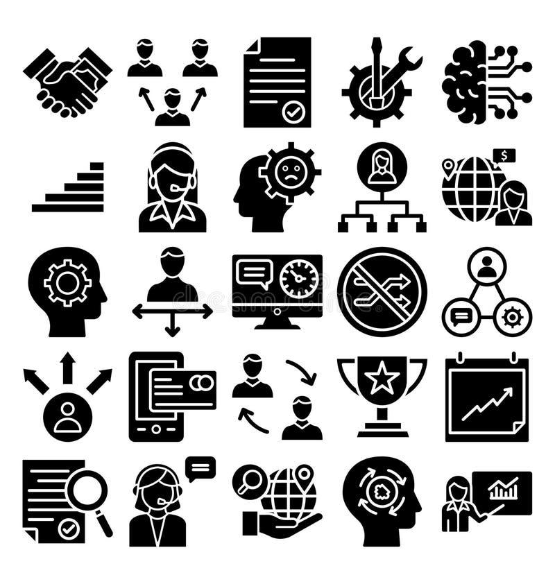 Значок вектора торговлей дела значка вектора торговлей дела editable editable иллюстрация вектора