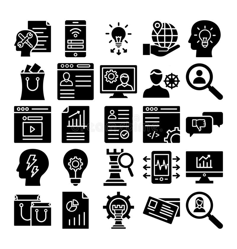 Значок вектора торговлей дела значка вектора торговлей дела editable editable бесплатная иллюстрация