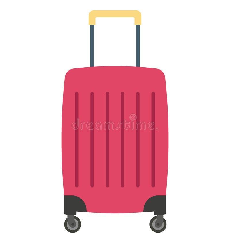 Значок вектора цвета багажа который может легко доработать или отредактировать иллюстрация штока