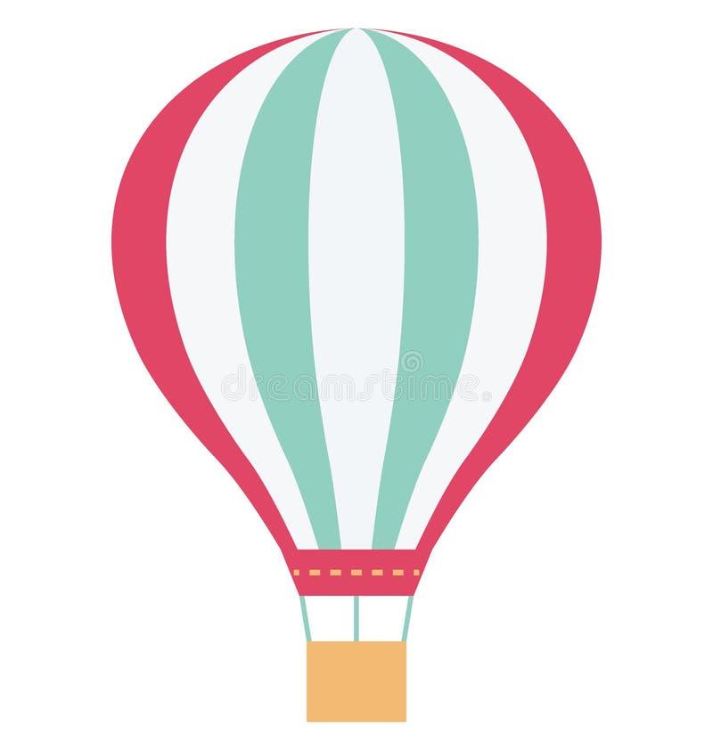 Значок вектора цвета воздушного шара который может легко доработать или отредактировать иллюстрация штока