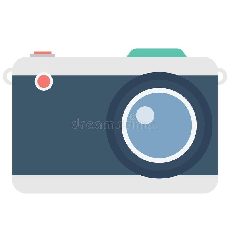 Значок вектора цвета камеры который может легко доработать или отредактировать иллюстрация штока