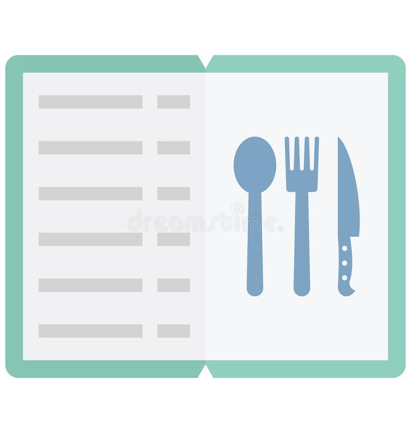 Значок вектора цвета меню который может легко доработать или отредактировать иллюстрация штока