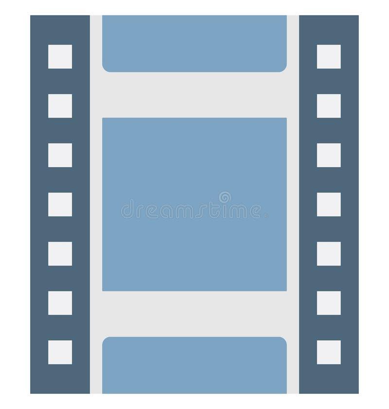 Значок вектора цвета прокладки фильма который может легко доработать или отредактировать бесплатная иллюстрация