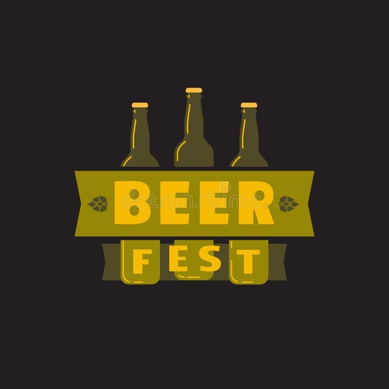Значок вектора цвета руки фестиваля пива вычерченный плоский иллюстрация вектора