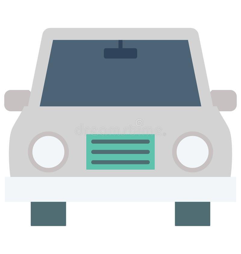 Значок вектора цвета такси который может легко доработать или отредактировать иллюстрация вектора