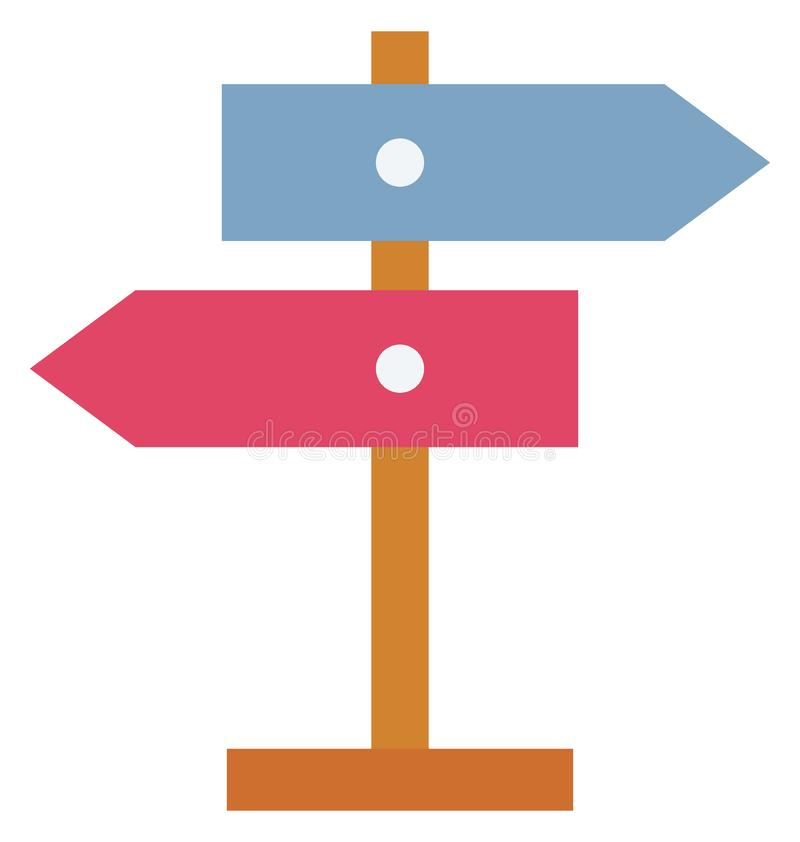 Значок вектора цвета указателя который может легко доработать или отредактировать иллюстрация штока