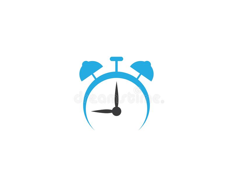Значок вектора часов бесплатная иллюстрация