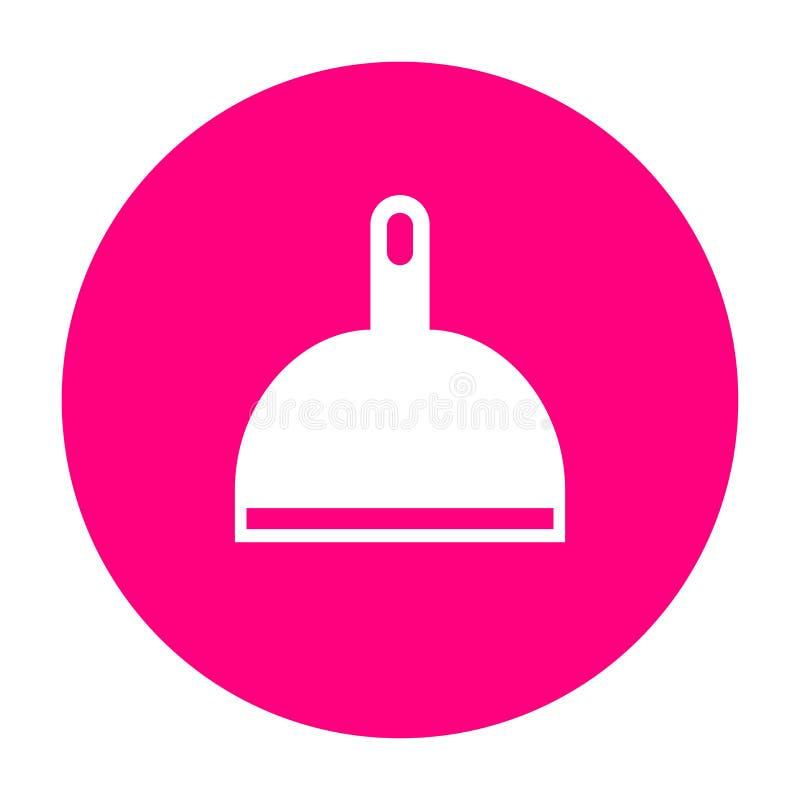 Значок вектора Dustpan бесплатная иллюстрация