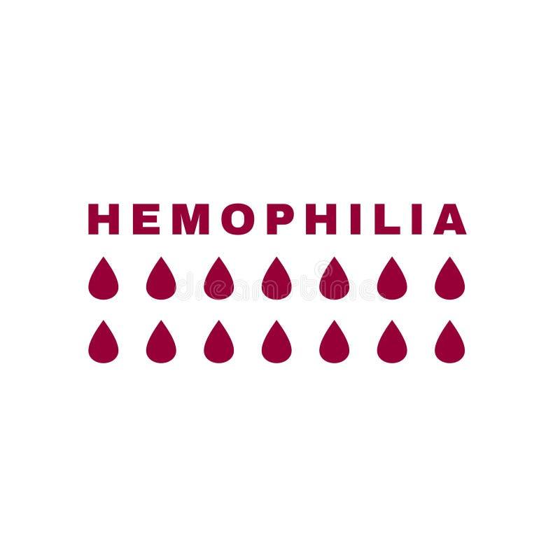 Значок вектора Hemophlia бесплатная иллюстрация
