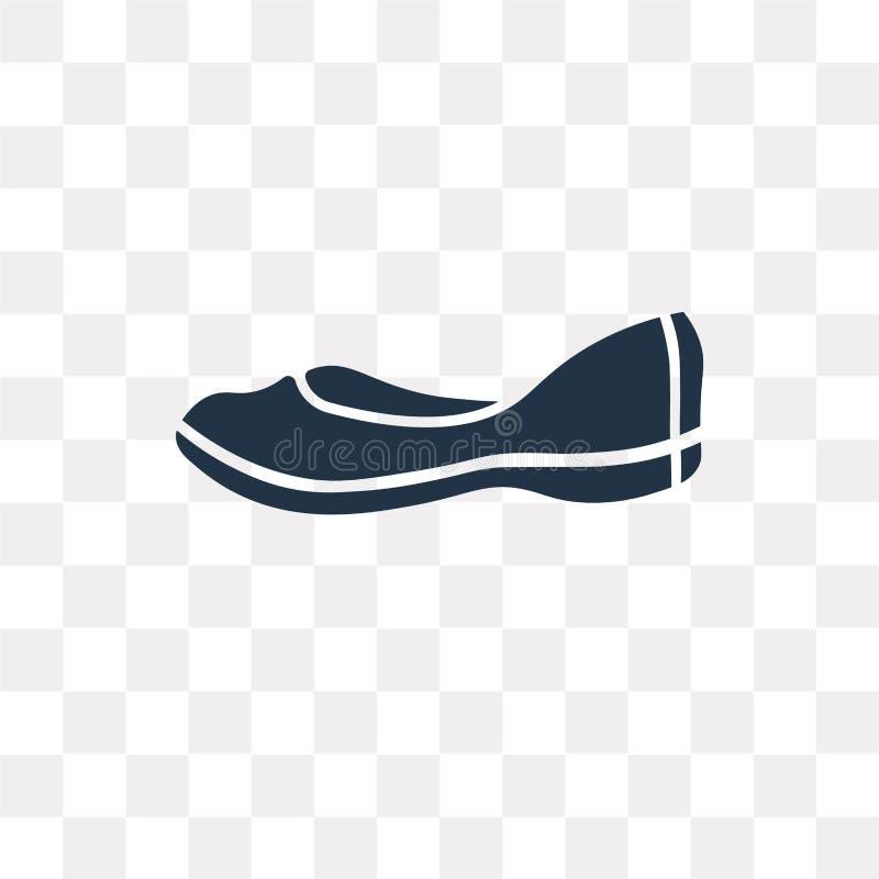 Значок вектора Loafer изолированный на прозрачной предпосылке, Loafer t бесплатная иллюстрация