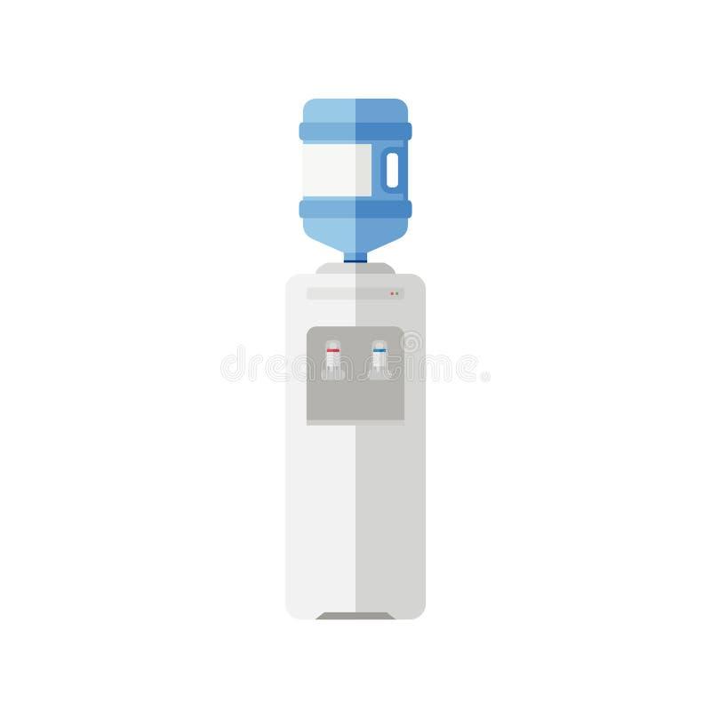 Значок водяного охлаждения плоский бесплатная иллюстрация
