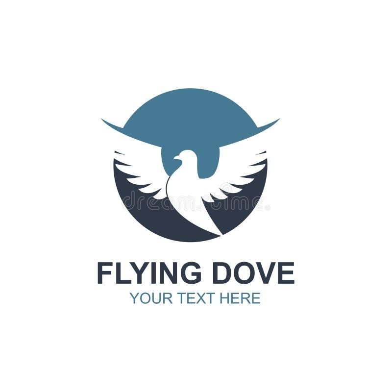 Значок голубя летания бесплатная иллюстрация