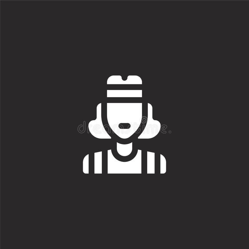 Значок 80. Значок 'Заполненные' для проектирования веб-сайтов и разработ бесплатная иллюстрация